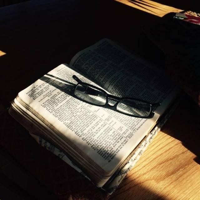 Glasses Bible