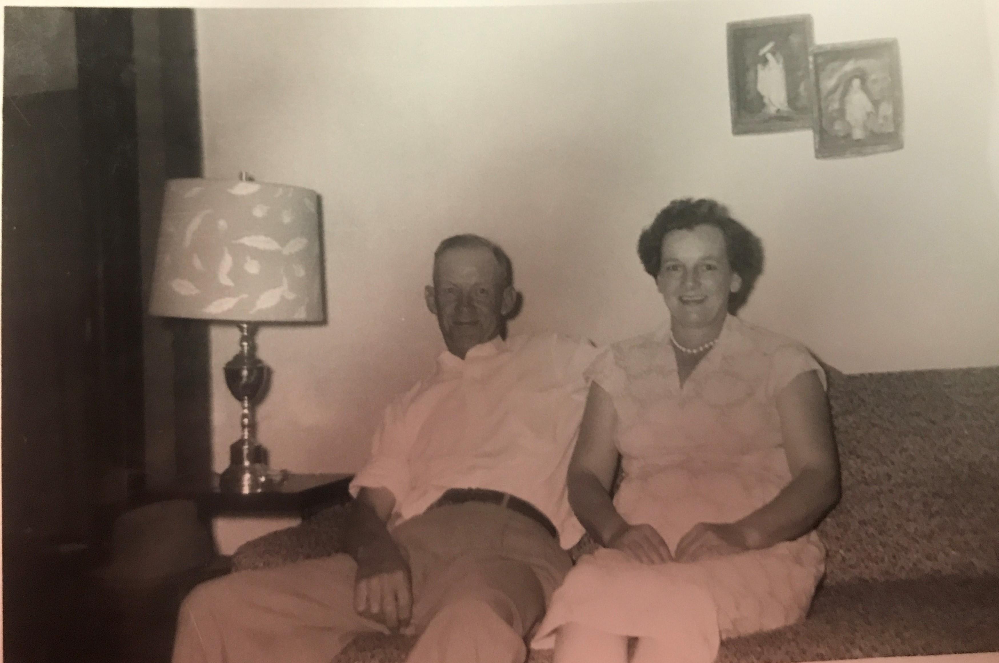 Grandpa Rhodes and Granny Rhodes
