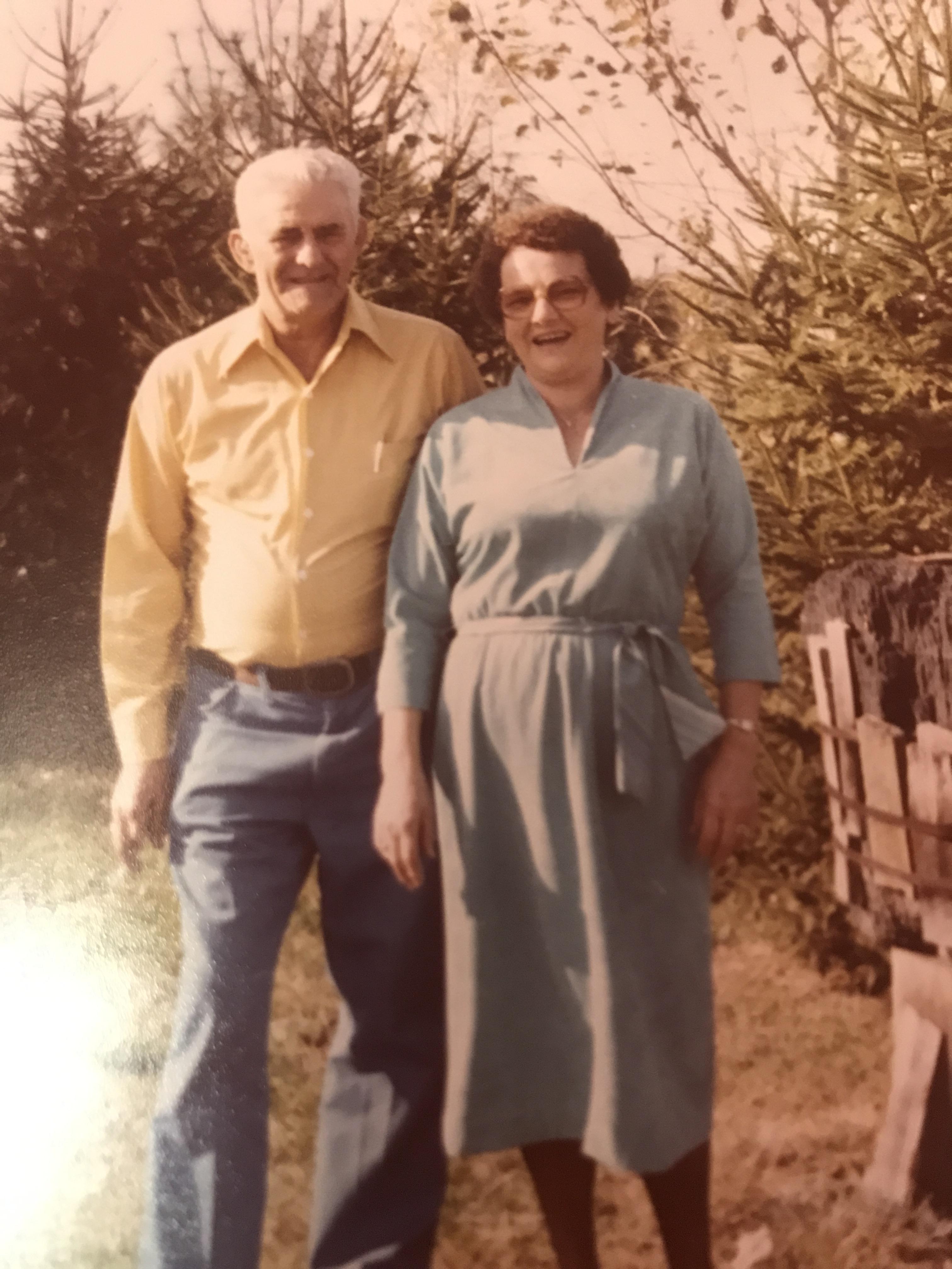 Granny Rhodes and Burton